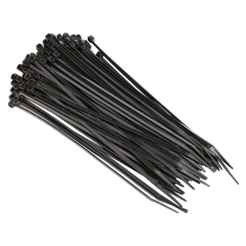 2 5x100 mm kabelbinder schwarz uv gesch tzt 100 st 0 99 schrauben muttern d bel und. Black Bedroom Furniture Sets. Home Design Ideas